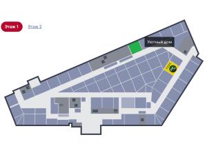 "План-схема 1 этаж Центра мебели ""Камелот"""